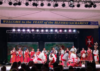Feast of the Blessed Sacrament Madeira Field, New Bedford 2019